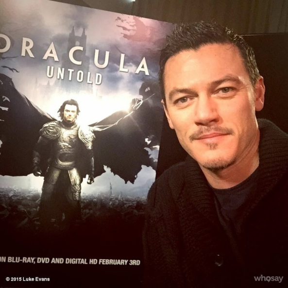 Luke Evans - Dracula Untold interview